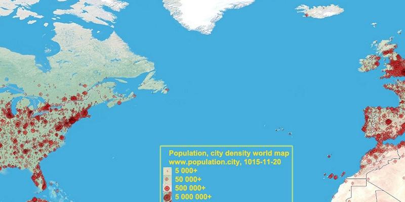 Saint Pierre And Miquelon Population - Saint pierre and miquelon map