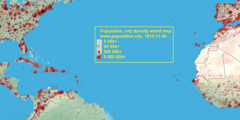 Saint Kitts And Nevis Population - Saint kitts and nevis map