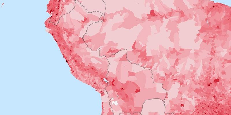 Cusco Population - Peru population map 1970