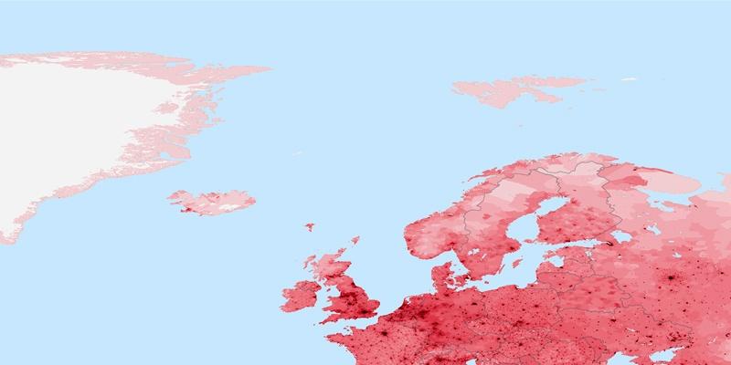 Norway Population - Norway map population density